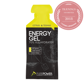 TOFT CARE A/S - ENERGY GEL 40 G