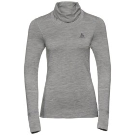 ODLO - TOP TURTLE NECK L/S NATURAL